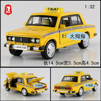 Nostalgic classic taxi mirada webworm alloy car model toy