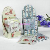 Small paper sachet wardrobe sachems car sachet scented sachet