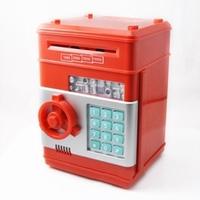 Automatic roll password safe mini atm piggy bank mini safes creative piggy bank
