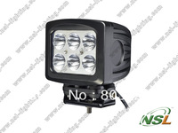Multivoltage 10-30V DC input 12LEDs 60W 6000Lum CREE LED WORK LIGHT - SUPER SHOCK PROOF - LIGHT TRUCK 4WD fog cree led lamp.