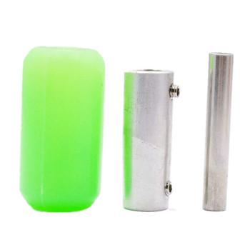 "U Pick 2013 Pro 1"" 25mm Silicone Soft Rubber Tattoo Machine Grip Tube Back Stem"