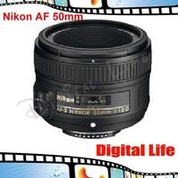 Nikon 50 1.8 D Lens Nikkor AF 50mm f/1.8D Lens for Nikon D80 D90 D7000 D7100 D300 D600 D700 D3 digital camera professional