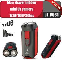 Free shipping built-in 8GB True man shaver with hidden mini dv camera 1280*960 vedio digital recorder,motion detection,JL-0061