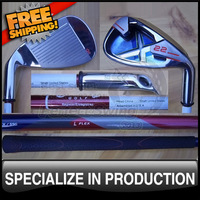 New Design Lady Golf Set X-22 Irons with Graphite Shafts Light Flex 3-9PS Headcovers included