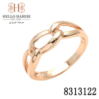 Fashion 18K CC color Gold plated ring jewelry for women Factory Price,Free Shipping 8313122