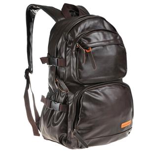 Trend backpack PU student school bag laptop bag travel backpack
