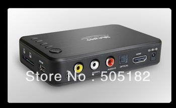 Full HD Network Media Player A1HD, Boxchip F10, Full 1080P ,MKV, H.264, HDMI , USB host , SD card reader ,mini MKV player