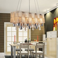factory cost promotion  L800mm rectangle crystal Pendant lamp dinning lighting +Free shipping