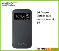 Original wholesale pice S4 leather case sever colours choose high quality wholesale