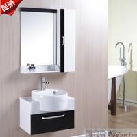 60cm claretred bathroom cabinet brief washbasin combination of wash basin pvc candy color small bathroom cabinet