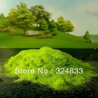 Tree powder for model tree are light green adhesive flock ,tree foliage flock 1KG T-2026