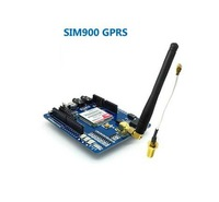 GSM GPRS SIM900 Module Expansion Board with Antenna Extension Cable free shipping