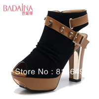 Free Shipping!New Arrived Fashion Women's Skull High-heel Shoes Casual Female Gladiator Women's Pumps CLSBDN-K17