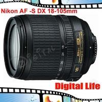 Nikon 18-105 mm f/3.5-5.6G ED VR Lens AF-S DX Nikkor Autofocus Lens
