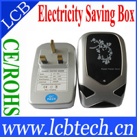Free Shipping!  UK Plug Power Saving Decvice Electricity saving box 30KW SD-004 Power Factor Saver