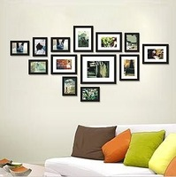 Romantic photo frame photo wall double classic 13-box combination