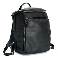 Fashion male 2013 backpack first layer of cowhide laptop bag man bag travel bag large capacity bag free shipping