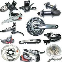 2013 SLX M670 10speeds Bicycle Derailleur set/Mountain bike Speed change kit with 675 oil DISC brake,675 hub and heatsink