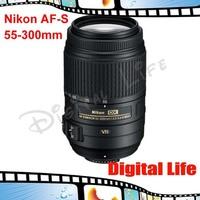 Nikon AF-S 55-300mm f/4.5-5.6G ED VR Zoom Lens Nikkor lenses for Nikon D3000 D3100 D3200 D60 D5000 D5100 D90 D7000 Dslr cameras