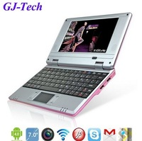 Free shipping best top 7inch google android 4.0 VIA8850 mini laptop review tablet pc notebook netbook pad computer wifi 3G HDMI