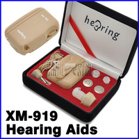 Convenient XM-919 Voice Sound Amplifier Hearing Aid Small Ear Aids Free Shipping HH0055