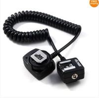 Free Shipping!!Viltrox OC-E3 ETTL off camera shoe Cord for C  DSLR camera Flash with Safe Lock 150cm