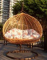 High quality product rattan swing rattan hanging basket rattan hanging chair rattan bird nest hanging basket