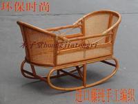 Bush-rope muzi cradle concentretor baby cradle baby cradle crib independent parent-child electric cradle
