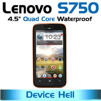 in stock free shipping original lenovo s750 phone waterproof ip67 dual sim android quad core gorilla glass screen gps navigation