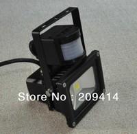 Wholesale free shipping 10W 20W 30W 50W PIR motion sensor led flood lights high-end led floodlight AC85-265V IP65 10PCS/lot