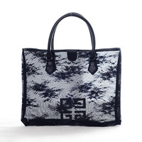 New Women's Translucent lace bag HandBag Shopping Bag