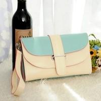 Women's handbag mini bag handbag shoulder bag messenger bag double layer day clutch coin purse 25*5*16 cm free shipping