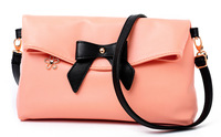 Women's bags 2013 women's handbag casual bow one shoulder handbag messenger bag small bags