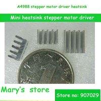 free shipping (10pcs/lot) 3D printers mini heatsink A4988 stepper motor driver