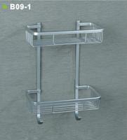 Space aluminum double layer flat basket belt