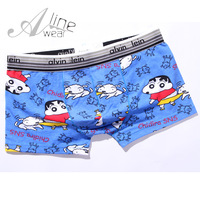 Men's men's cartoon panties blue