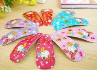 Children headdress child side folder cute bowtie bunny concise