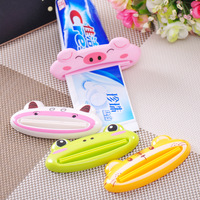 Free Shipping Home supplies high quality flatworm ABS cartoon toothpaste squeezer c849