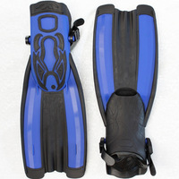 Swimming flippers submersible short fins submersible snorkeling light fins color  free shipping