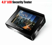 Portable CCTV Video Tester For Zoom Security Camera 4.3Inch LCD Monitor