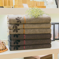 Towel plaid bath towel all-match thickening absorbent towels