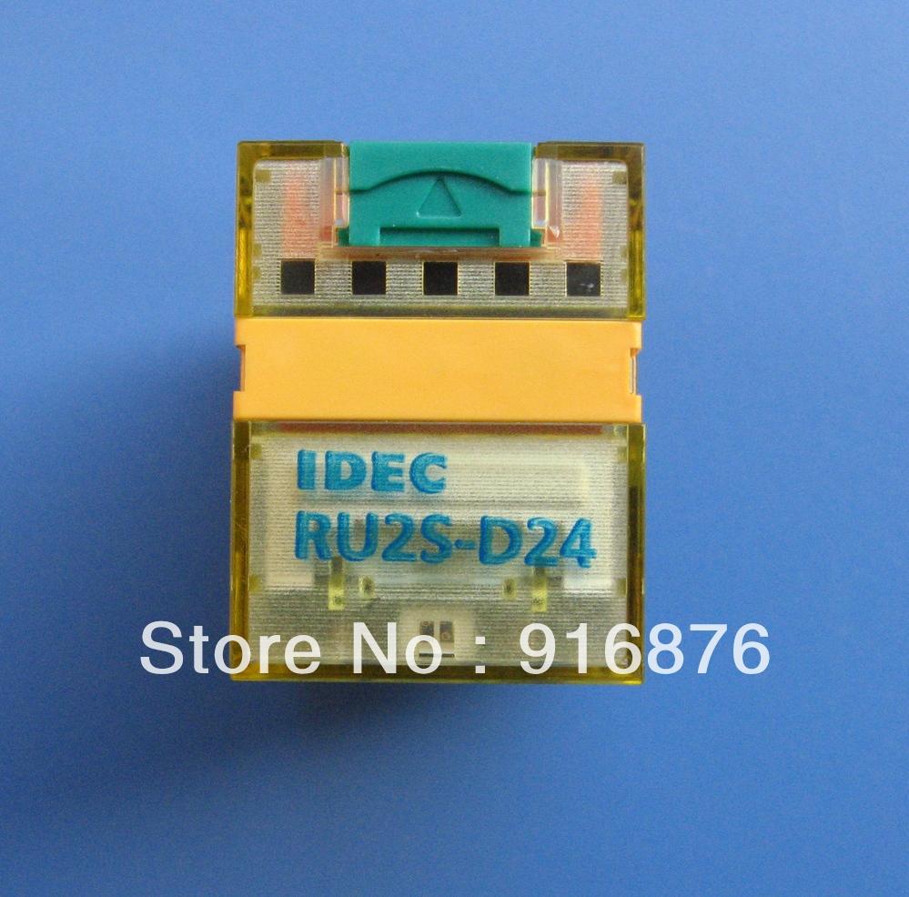 IDEC RU2S-D24 Relay 24VDC 50/60HZ(China (Mainland))