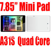 7.85 inch Mini Pad Allwinner A31s Quad core tablet pc android4.2 ANDROID 4.2 MINI TABLET PC.