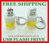 free drop shipping  wholesale retail genuine  4G 8G 16G 32G  64gb usb drive  drive usb flash drive memory  wineglass shape