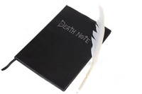 1set New DEATH NOTE Notebook & Feather pen COS cosplay accessories Light Yagami/Ryuuku free shipping
