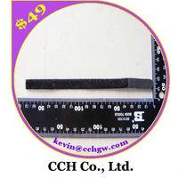 "2/5""x6.7"" 10*170mm Black Nylon Hook and Loop Velcro Cable ties"