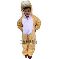 Performance wear child clothing cosplay clothes plush monkey 3