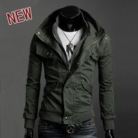 2013 men's spring clothing spring slim male men's fashionable casual jacket coat
