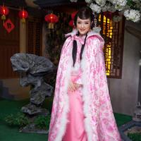 "Costume mantissas Cape, cloak cold large-neck female ""Zhen Huan Biography"""