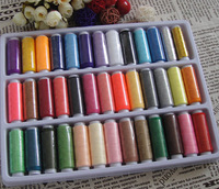 402 sewing thread sew-on line threadneedle sewing machine terylene handmade line,39colors,each 1=1lot